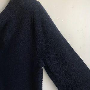 GAP Sweaters - Gap Tie Front Black Sweater Acrylic Blend Size M